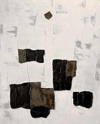 Paul-Émile Borduas, «L'étoile noire», 1957