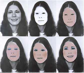 Suzy Lake, «A Genuine Simulation of… No. 2», 1973-1974