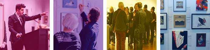 Les Impatients : 7e édition de l'exposition-encan Parle-moi d'amour – WestmountMag.ca