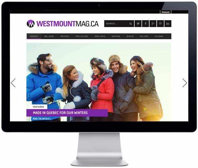 iMac - promo WestmountMag