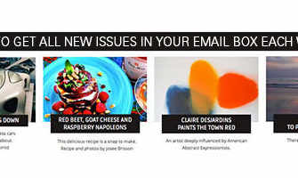 Sign-up to our newsletter and get email notification of our latest articles
