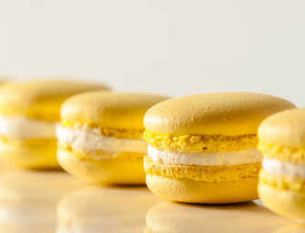 The Finer Cookie:<br>Lemon Macarons