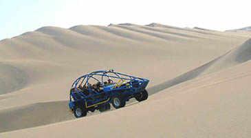 Paracas sand dune buggy