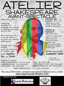 shakespeare workshop french