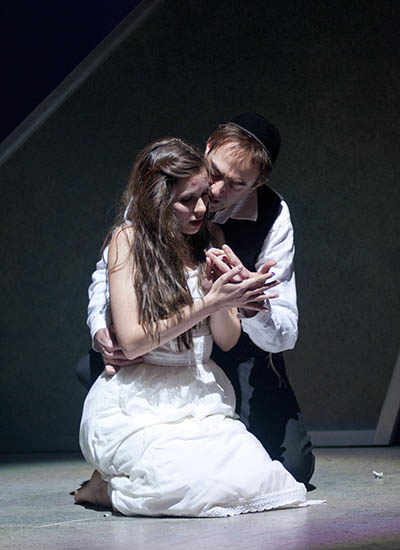 scene from The Dybbuk