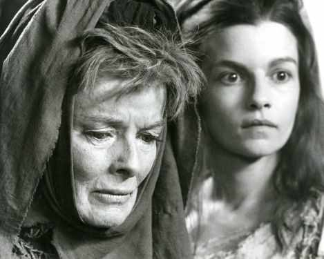 Katherine Hepburn et Geneviève Bujold