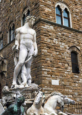 photo: statue of Hercules, Florence