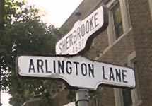 arlington lane sign