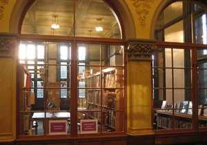 photo: inside Westmount Library