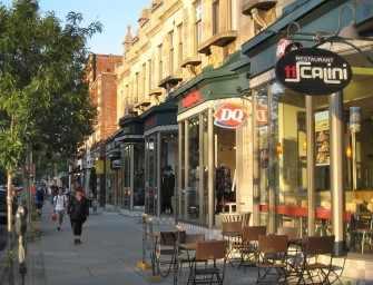 Sherbrooke Street memories
