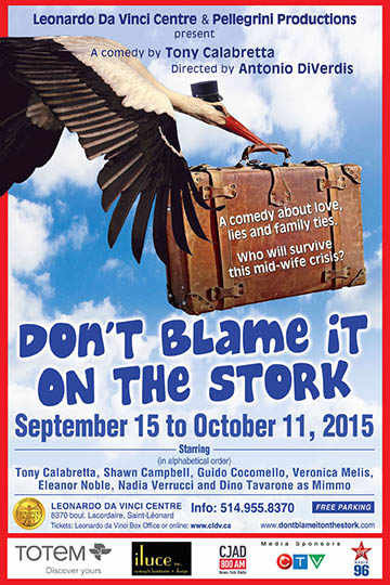 don´t blame it on the stork poster