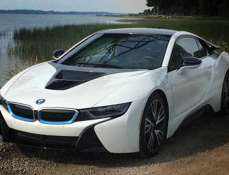 The Spectacular BMW i8