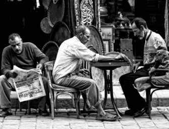 Galerie photo : Roy M. Gunnels <br>La rue Muiz au Caire
