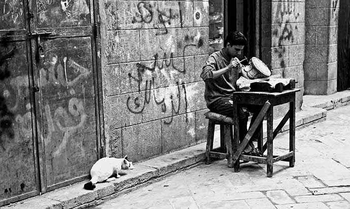 photo: Muiz Street, Cairo, by Roy Gunnels