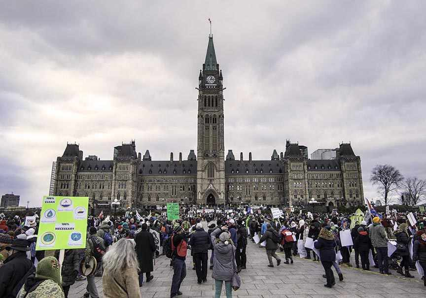 ottawa climate march, parliament of canada