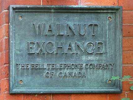 bell exchange sign