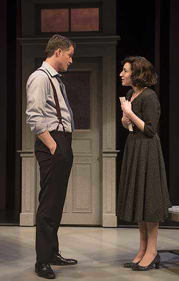Marcel Jeannin and Sara Farb, The Secret Annex play