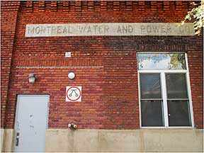 montreal water and power, westmount