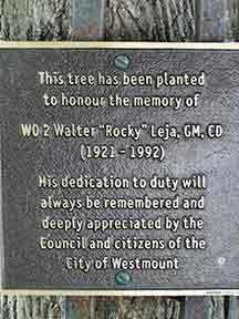 memorial plaque leja westmount grosvenor westmountmag.ca