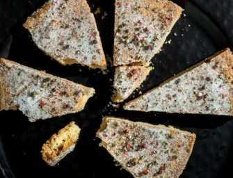 The Finer Cookie: <br>Peppercorn Shortbread