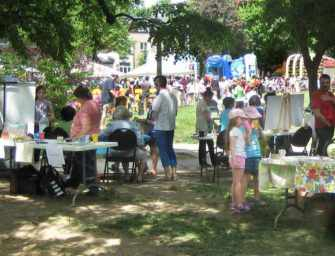A day of family fun <br>in Westmount Park
