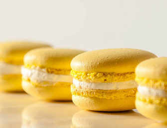 The Finer Cookie: <br>Lemon Macaron