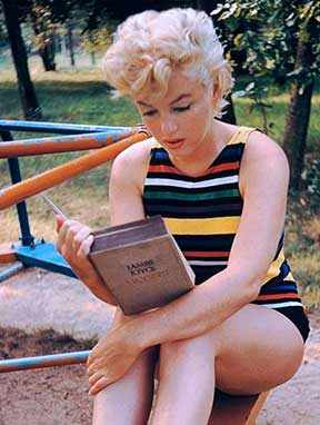 marilyn monroe reading joyce westmountmag.ca