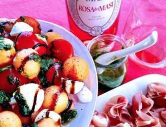 Prosciutto e Melone <br>et Insalata Caprese