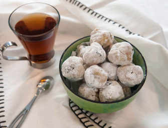 The Finer Cookie: <br> Sour Cherry Amaretti