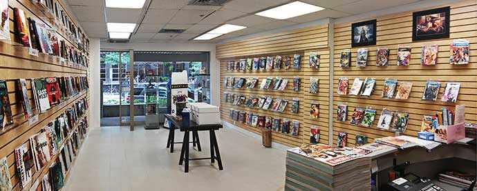 Brave Comix Bookstore - 4154-B Sainte-Catherine West Westmount, Quebec, H3Z 1P4 Canada