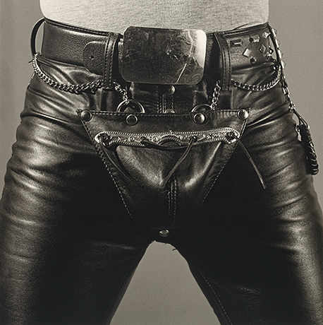 Robert Mapplethorpe, Leather Crotch [Entrejambe en cuir], 1980