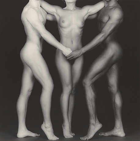 Robert Mapplethorpe, Ken and Lydia and Tyler [Ken, Lydia et Tyler], 1985
