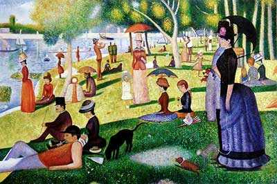 Seurat Sunday Afternoon WestmountMag.ca