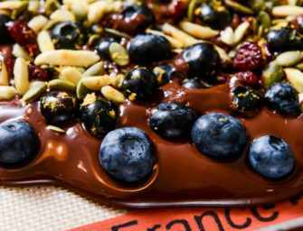 The Finer Cookie: <br>Blueberry Bark