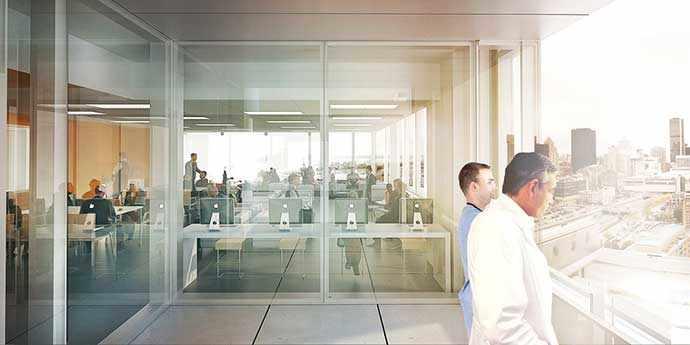 CHUM - Images : CannonDesign + NEUF architect(e)s, Yann Pocreau et Karine Savard - WestmountMag.ca