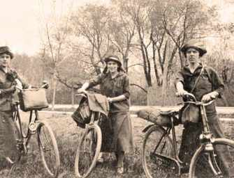 The early days of cycling <br>in Montreal
