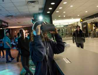 Virtual Reality Lands <br>at Alexis Nihon