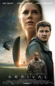Arrival, movie poster - L'Arrivée, affiche de film - WestmountMag.ca