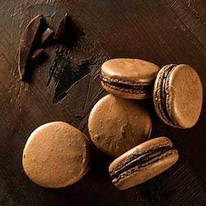 photo: Chocolate Macaroons - WestmountMag.ca
