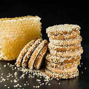 photo: honey sesame cookies - WestmountMag.ca