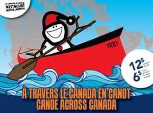 canoe across Canada WestmountMag.ca