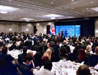 Chrystia Freeland Talks Trade <br>at CORIM Luncheon