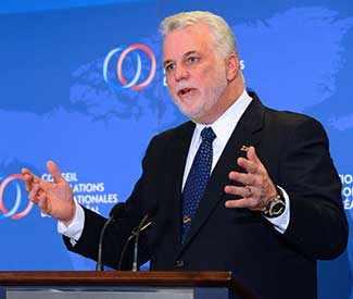 Quebec Prime Minister Philippe Couillard WestmountMag.ca