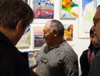 Célèbre duo d&rsquo;artistes Inuit <br>de passage à Westmount