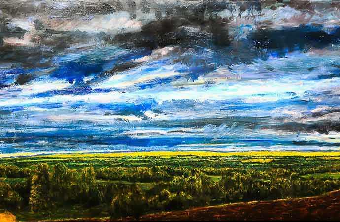 Peter Krausz - Galerie McClure Gallery - Brown's Hill - WestmountMag.ca
