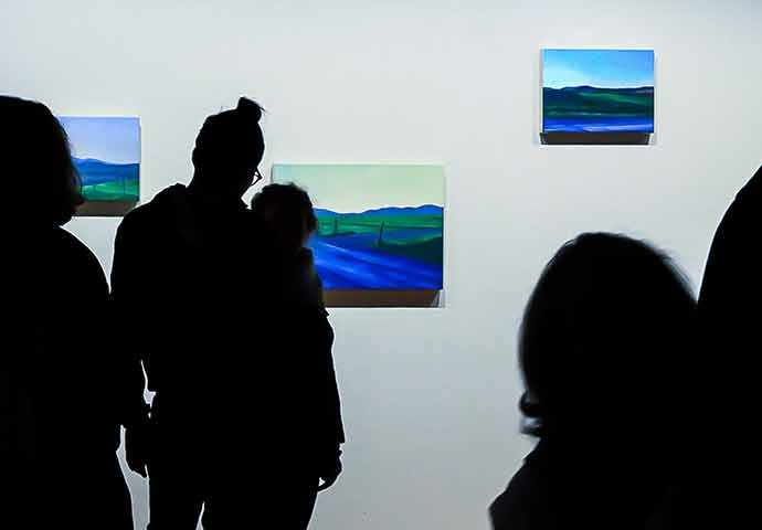 Renée Duval - Galerie McClure Gallery - Brown's Hill - WestmountMag.ca