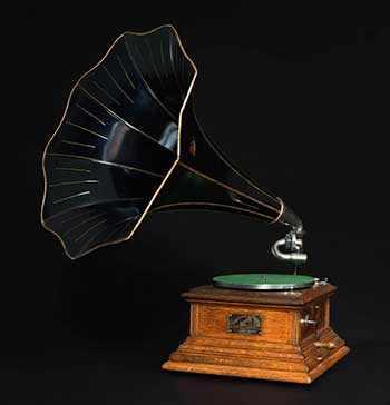 Victrola gramophone WestmountMag.ca