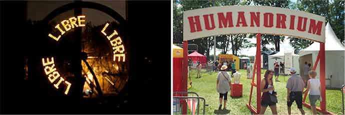 Jardins Gamelin – Mouvements libres / Humanorium – WestmountMag.ca