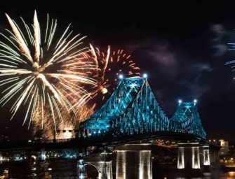 Illumination du pont <br>le plus connecté au monde