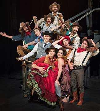 Saloon Cirque Eloize - WestmountMag.ca